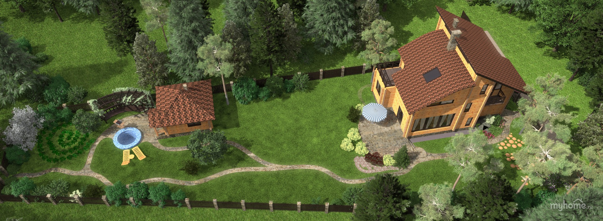 дом на треугольном участке фото лановой актер