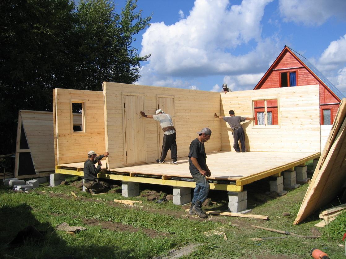 Как построить дом своими руками дешево фото вас