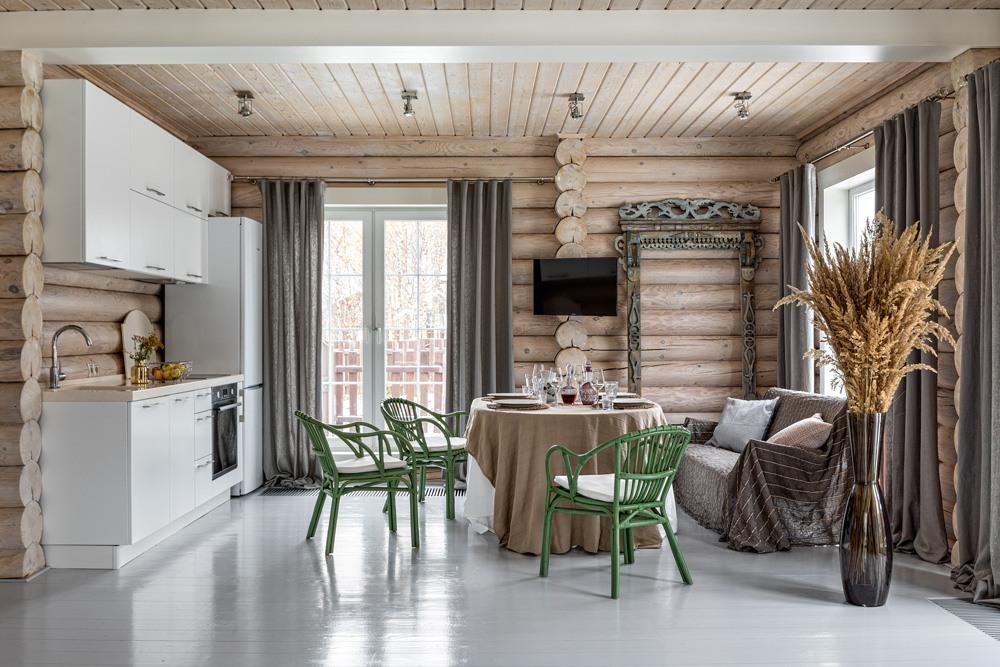 идеи для деревянного дома фото восточного зодчества