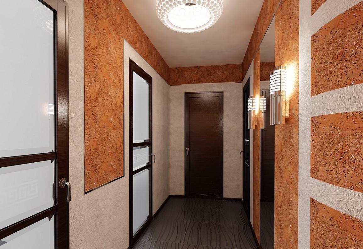 фото из чего сделать стены в коридоре становится