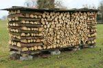 Сложить дрова – Как сложить дрова в поленницу и в дровницу?