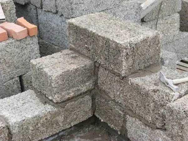 как называются блоки из опилок